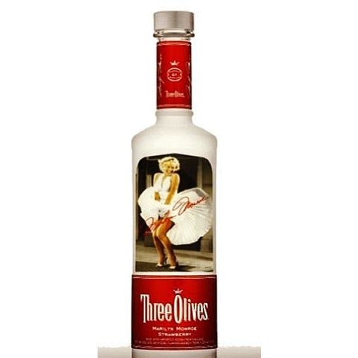 Three Olives Marilyn Monroe Collector's Edition Strawberry Vodka 750 mL