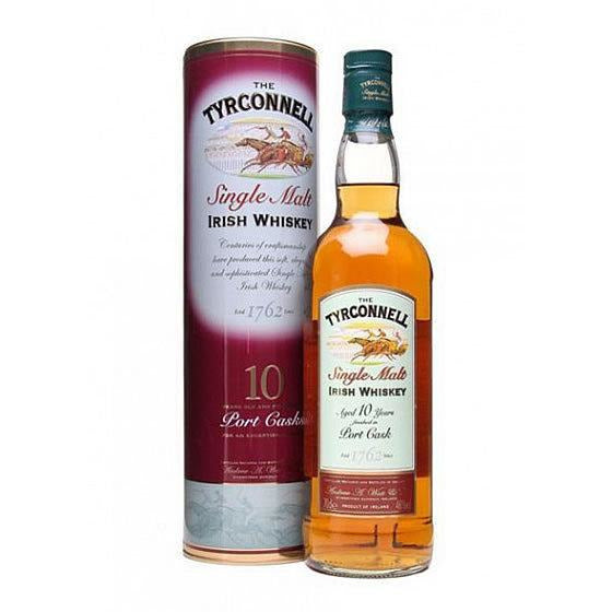 Tyrconnell 10 Year Old Port Cask Finish  750 mL