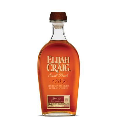 Elijah Craig Bourbon (Barn Burner) - Bourbon Pursuit & Keg N Bottle Barrel Pick 750 ml