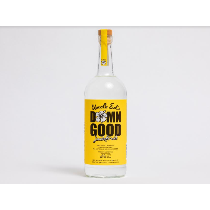 Uncle Ed's Damn Good Vodka Jack Fruit & Hibiscus 1 Liter