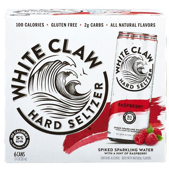 White Claw Raspberry (6pk)