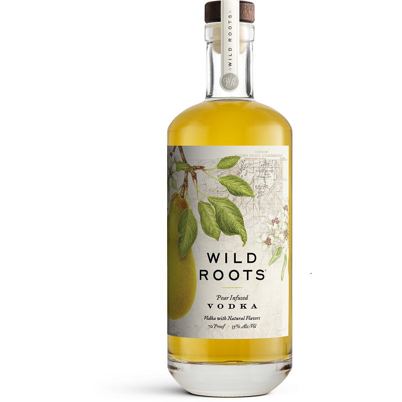 Wild Roots Pear Infused Vodka 750 ml