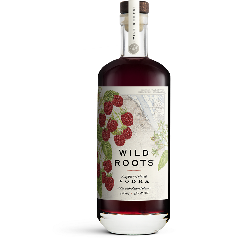 Wild Roots Raspberry Infused Vodka 750 mL