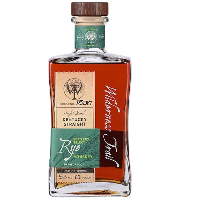 Wilderness Trail Kentucky Straight Rye Whiskey 750 mL