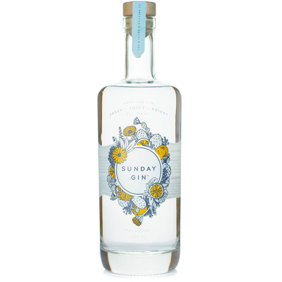 You And Yours Sunday Gin 750 ML