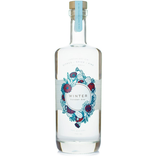 You and Yours Winter Sunday Gin 750 ML