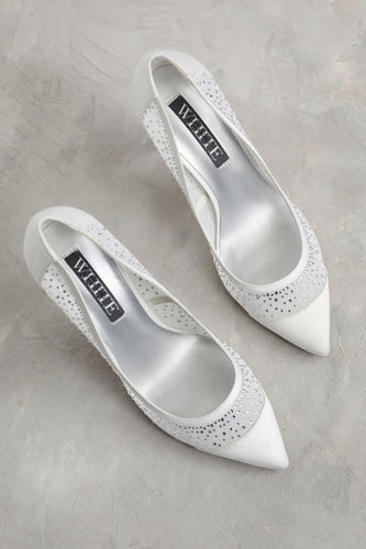 White Vera Wang Shoes