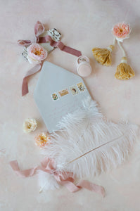 Soft Pink and Cream Set