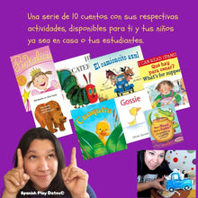 Load image into Gallery viewer, On Demand Spanish Story Times with activities