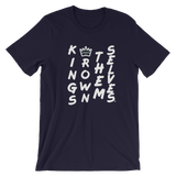 KINGSCROWNTEXT / white ink