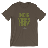 INDIE VIBES ONLY / ARMY GREEN DISTRESSED