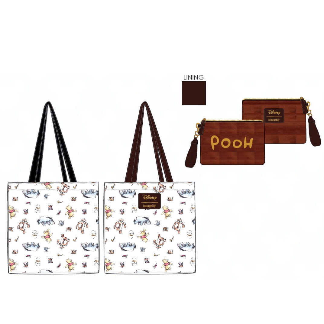Loungefly x Pooh Convertible Tote Bag