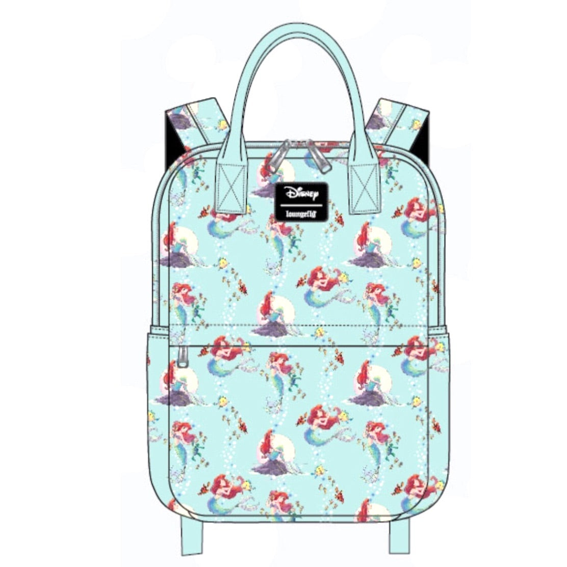 Loungefly X Ariel Scenes Backpack