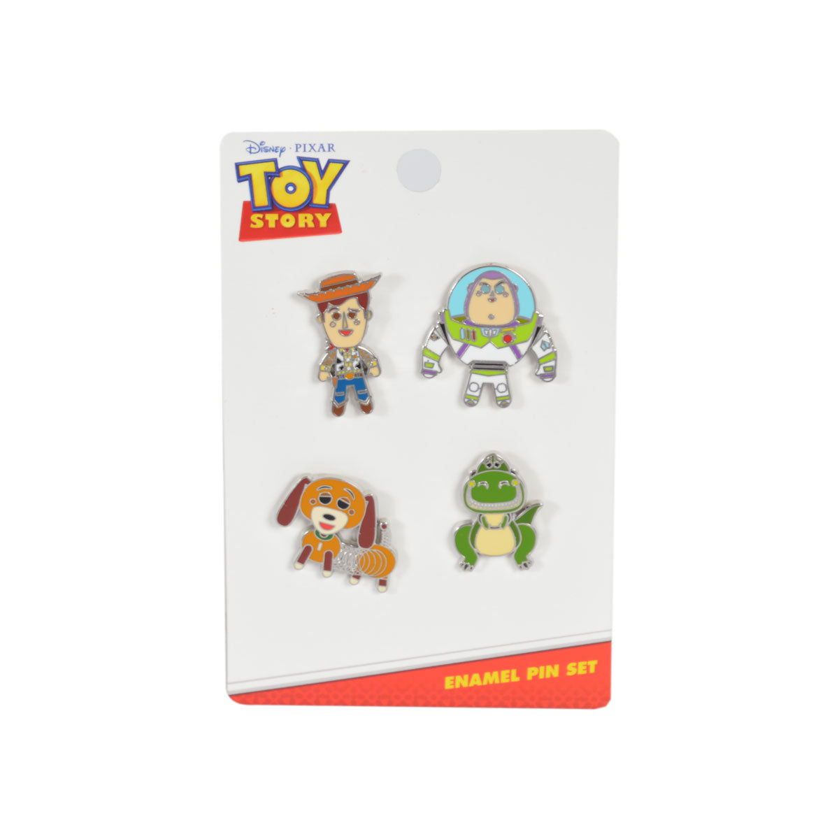 4-Piece Pin Set - Toy Story