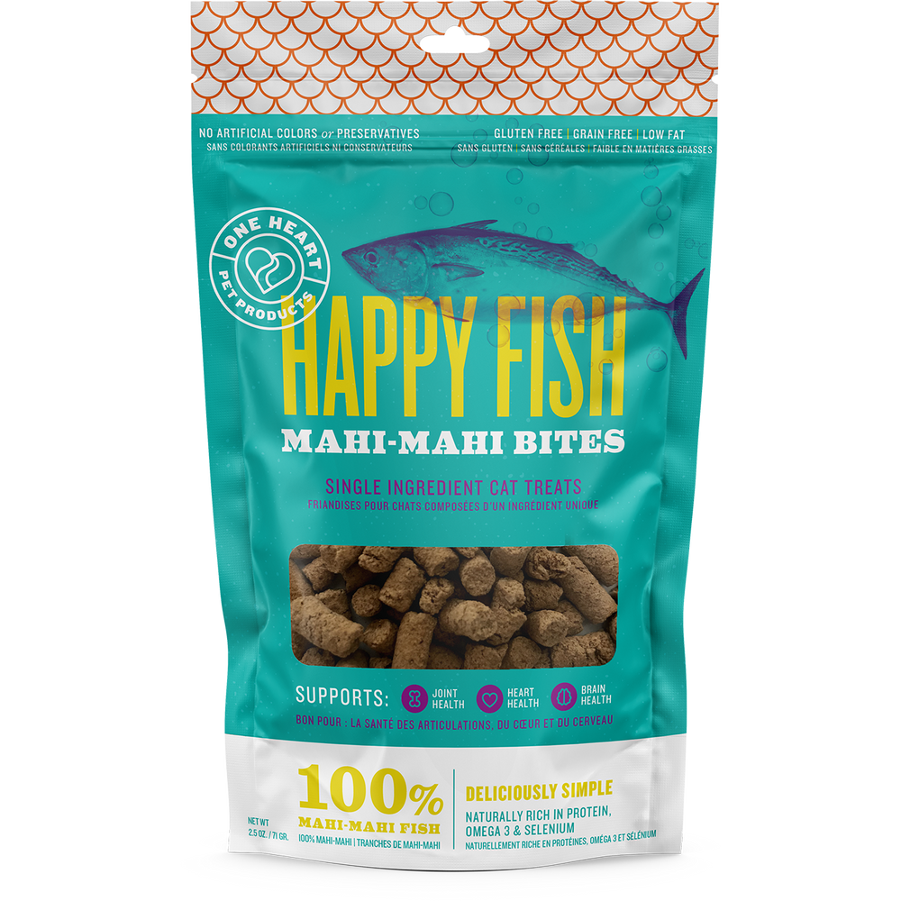 Happy Fish Mahi Mahi Bites, 2.5 oz