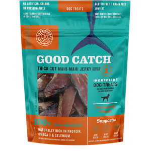 Good Catch Thick Cut Mahi-Mahi Jerky (3 oz) - One Heart Pet