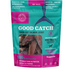 Good Catch Thick Cut Salmon Jerky, 3 oz.