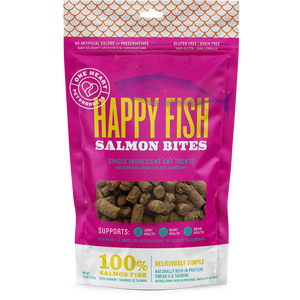 Happy Fish Salmon Bites (2.5 oz) - One Heart Pet