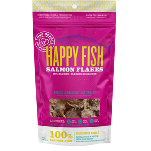 Happy Fish Salmon Flakes (1 oz) - One Heart Pet