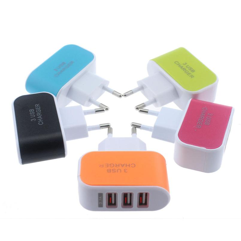 3 Ports 3.1A USB Charger