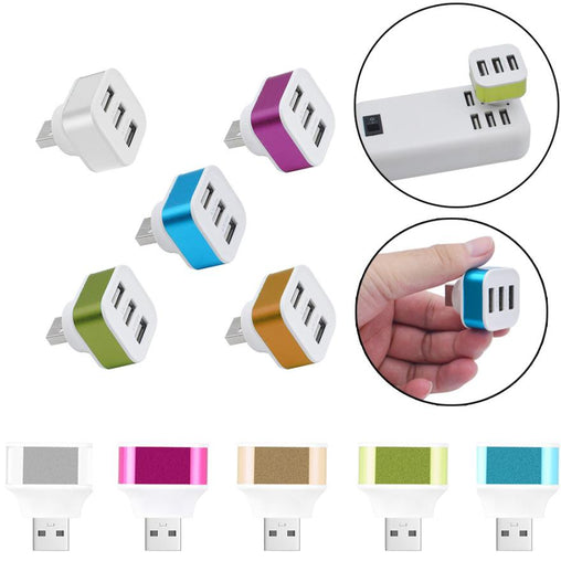 3 Ports USB 2.0 Chargers