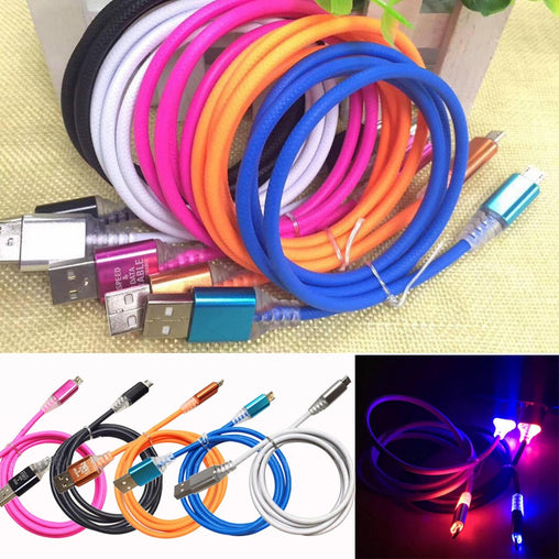 LED Light Micro USB Cable