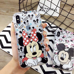 Mickey Mouse Silicone Case for iPhone
