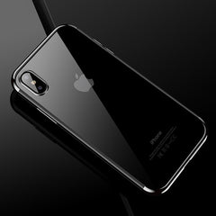 Transparent Silicone Cases for iPhone X
