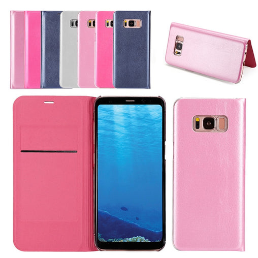 Leather Flip Case for Samsung Galaxy