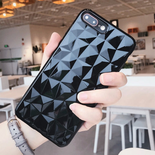 Crystal Silicone Case for iPhone