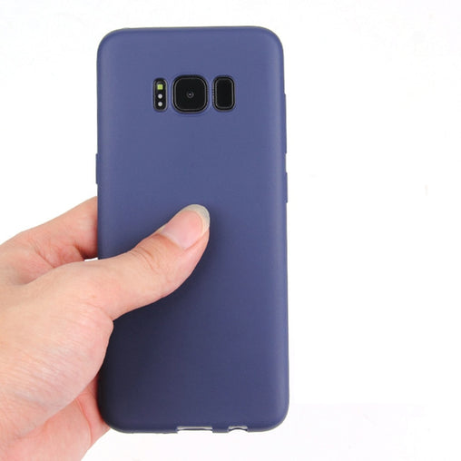 Frosted Matte Silicone Case for Samsung S8