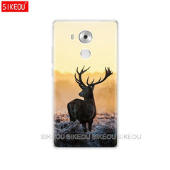 for Huawei Mate 8 Case Cover Huawei Mate8 Case Silicon Cartoon Soft back cover Mate 8 Coque Funda Skin shockproof transparent