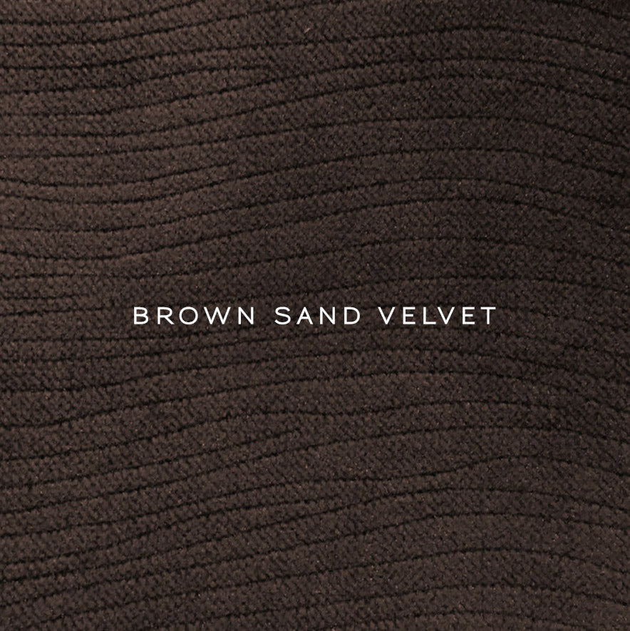 Ibex Pillow Wood- Herringbone Brown