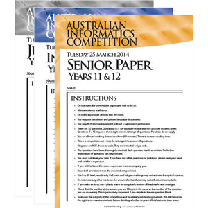 AIC Past Papers 2011–2014