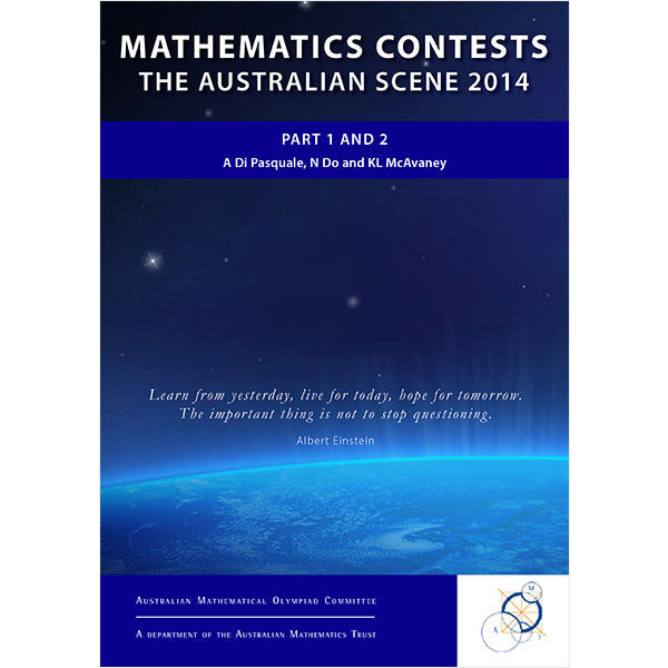 Mathematics Contests: The Australian Scene 2014