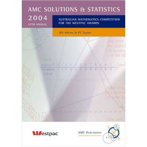 2004 AMC Solutions & Statistics, Secondary Divisions