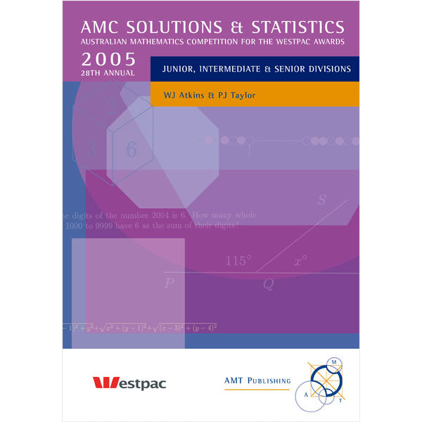 2005 AMC Solutions & Statistics, Secondary Divisions