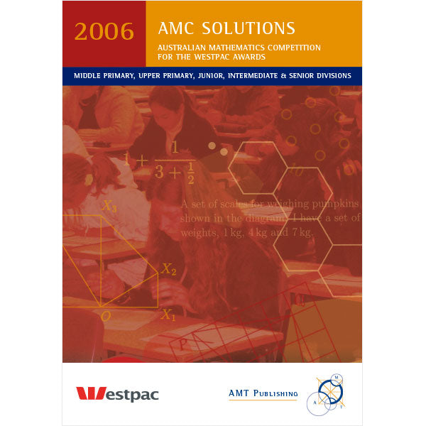 2006 AMC Solutions & Statistics, Secondary Divisions