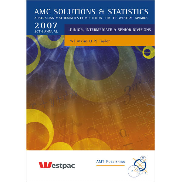 2007 AMC Solutions & Statistics, Secondary Divisions