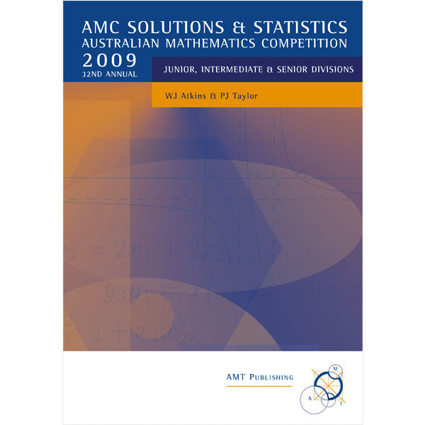 2009 AMC Solutions & Statistics, Secondary Divisions