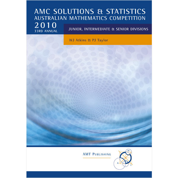2010 AMC Solutions & Statistics, Secondary Divisions