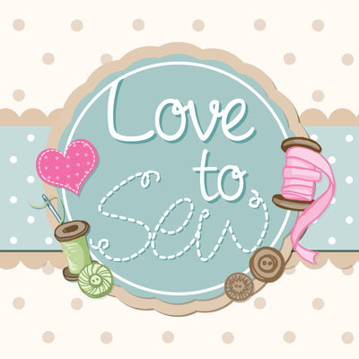 Love to Sew by C