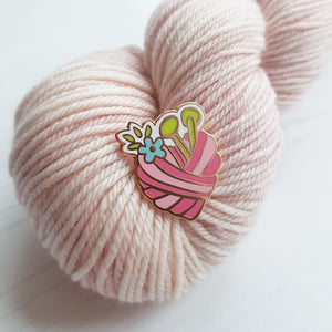 Enamel Pin - Yarn Heart