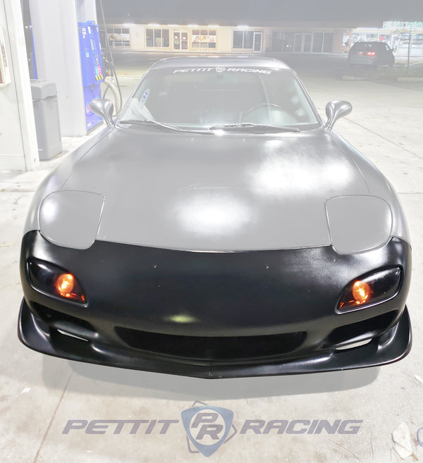99 Spec Plateless Front Bumper and Splitter kit RX7 FD3S