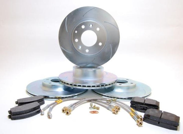 RX7 FD Brake Kit; Stage 1, 2, 3