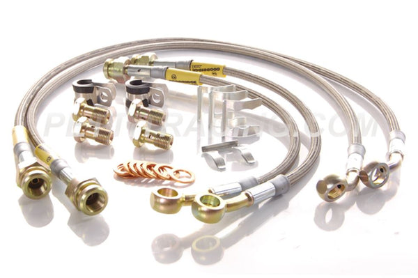 Pettit Racing Stainless Steel Brake Line Kit RX7 FD3S