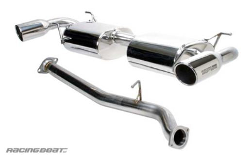 RX8 Racing Beat REV8 Cat Back Exhaust System Single tip