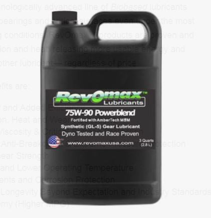 RevOmax Differential Lube 75/90 3 qt.