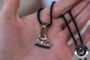 The Axe Of Perun - Hatchet Amulet Pendant, Bronze