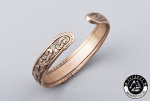Traditional Viking Arm Ring, Bronze